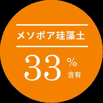 メソポア珪藻土33%含有